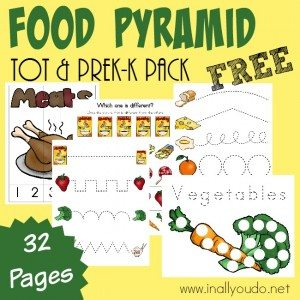 photograph relating to Food Pyramid for Kids Printable named Meals Pyramid Products: cost-free printables, crafts