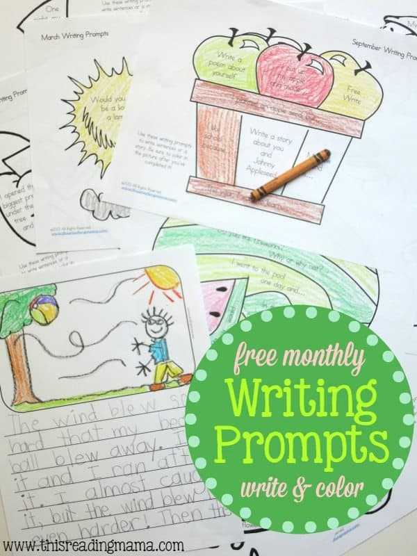 writing about reading prompts