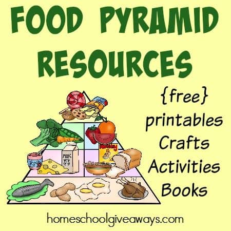 Food Pyramid Resources: {free} printables, crafts, activities & MORE!