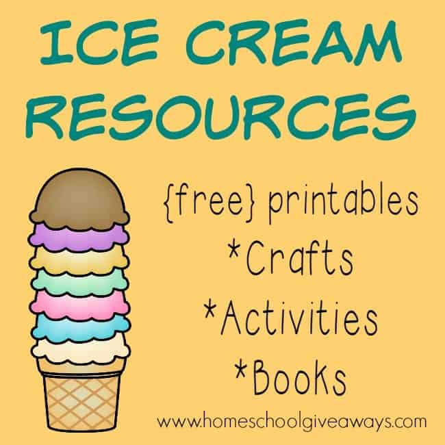 Ice Cream Printables, Crafts, Activities u0026 MORE!