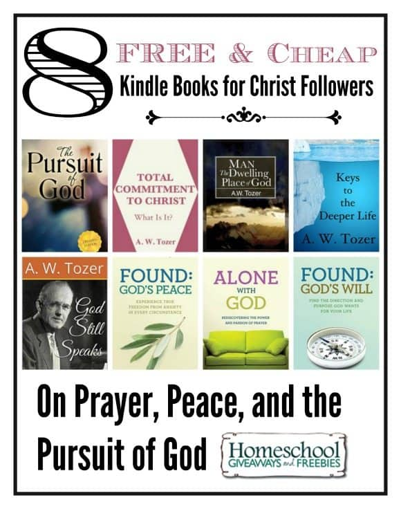 FREE and Cheap Kindle Books for Christ Followers
