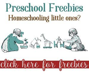 Preschool Freebies