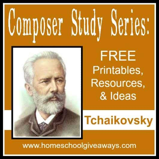 Composer Study Series FREE Printables Resources and Ideas – Composer Worksheets