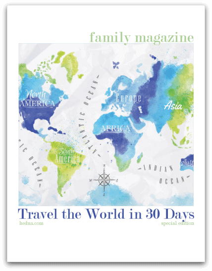 Travel the World in 30 Days drop