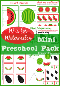 Watermelon-Mini-Preschool-Pack