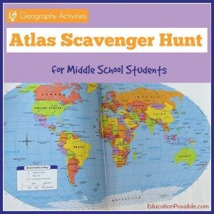 Atlas Scavenger Hunt