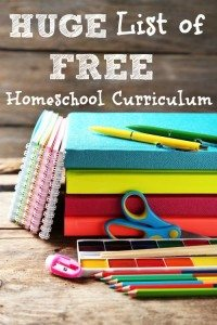 Huge List of FREE Hoeschool Curriculum www.homeschoolgiveaways.com Check out this free list of curriculum and reduce your homeschool budget for the new school year!