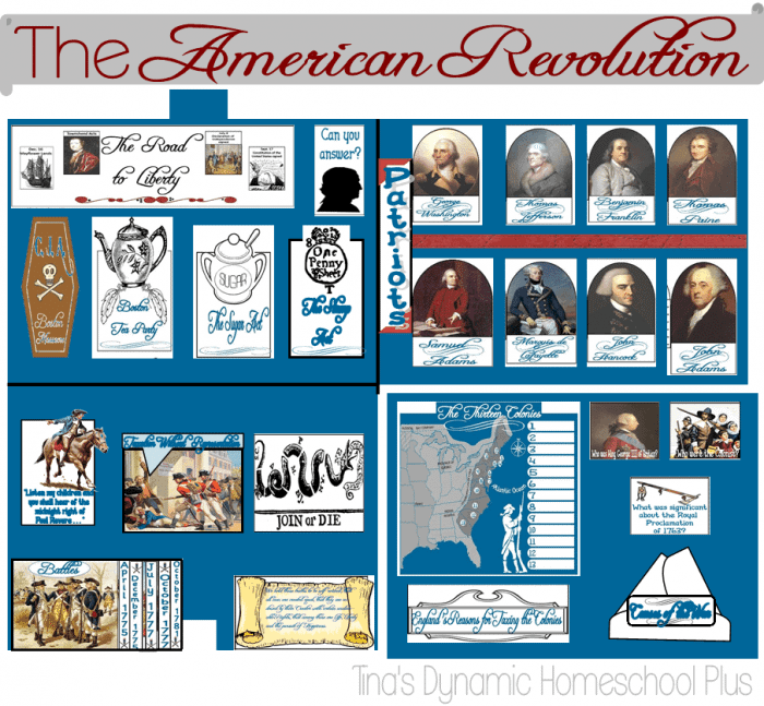 American-Revolution-Lapbook