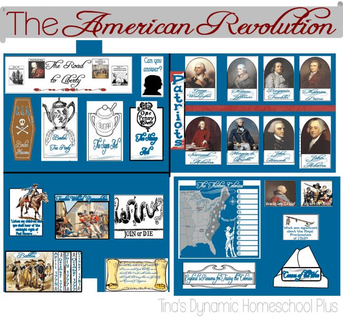American-Revolution-Lapbook
