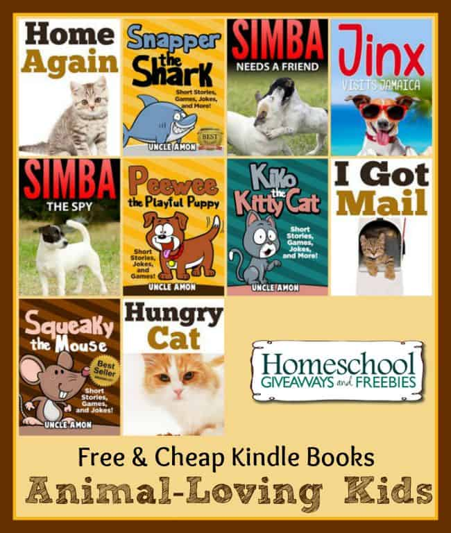 10 Free and Cheap Kindle Books for Animal-Loving Kids