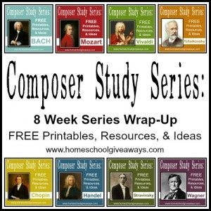 Composer Study wrap up