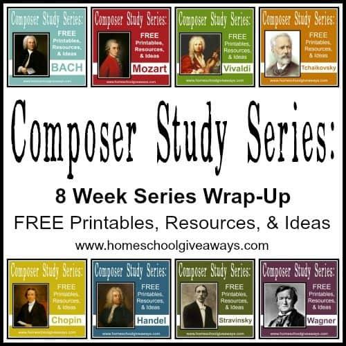 Composer Study wrap up