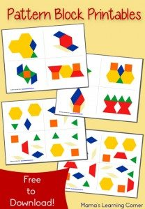 Free-Pattern-Block-Printables