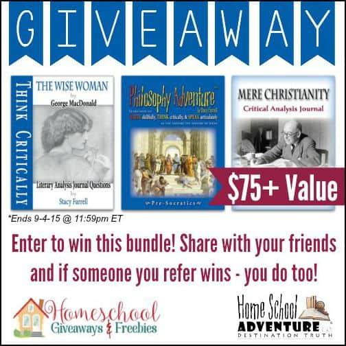 Home school adventure co philosophy adventure set giveaway ends 9