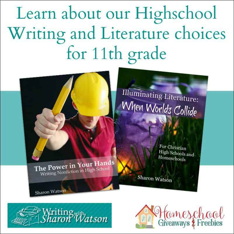 Learn about our High School Writing and Literature choices