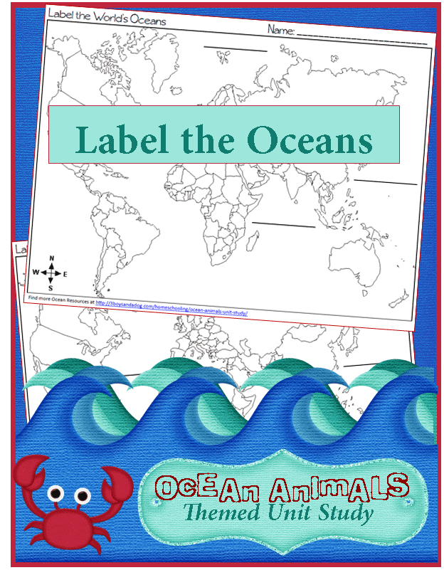 Label-the-World-Oceans
