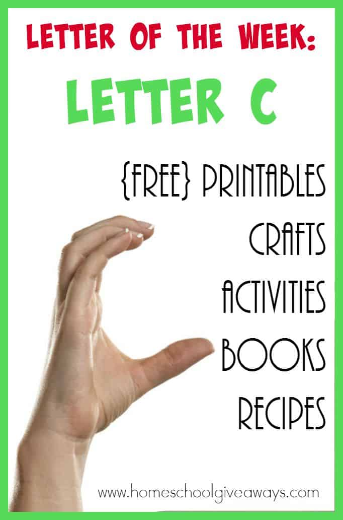 Find HUNDREDS of Letter C Resources here! From {free} printables to crafts to activities, to recipes to books and MORE!! :: www.inallyoudo.net