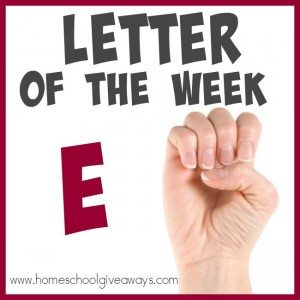 "Teach the Letter ""E"" with ease, using these 100+ resources! Includes: {free} printables, crafts, activities, books, recipes & MORE!! :: www.homeschoolgiveaways.com"