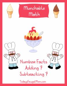 Munchable Math on Todays Frugal Mom-Ice Cream