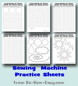 Sewing-machine-practice-sheets