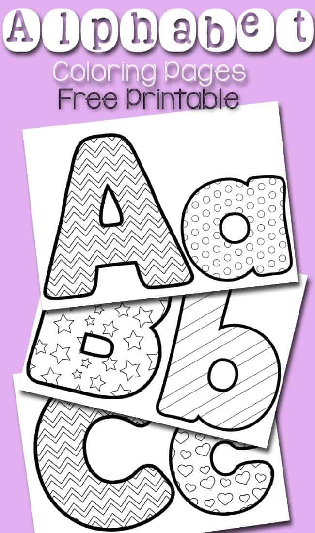Challenger image with free printable alphabet coloring pages