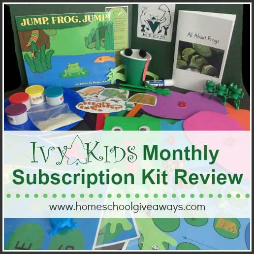 Ivy Kids Monthly Subscription Kit Review