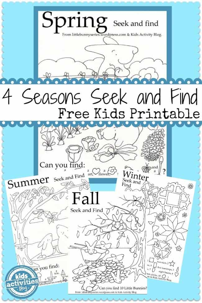 4 seasons seek and finds free printable homeschool giveaways. Black Bedroom Furniture Sets. Home Design Ideas