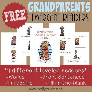 FREE Grandparents Emergent Readers_square