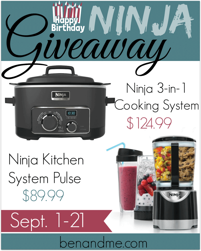 Ninja 3 In 1 Cooking System And Blender Giveaway