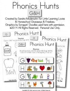 Phonics Hunt G And H-01