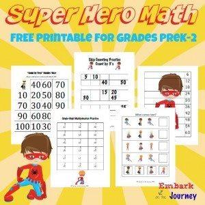 Super Hero Math Submit