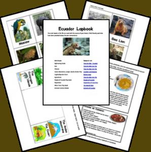 ecuador_lapbook