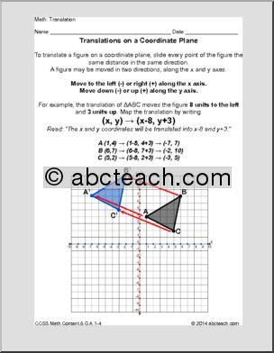 math worksheet : translations math worksheets free  excel math slide flip and turn  : Translations Math Worksheets