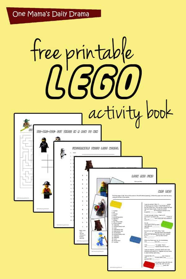 Critical image within activity book printable
