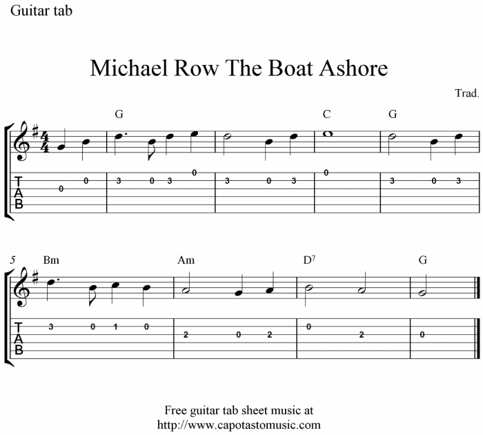 row row row your boat sheet music pdf