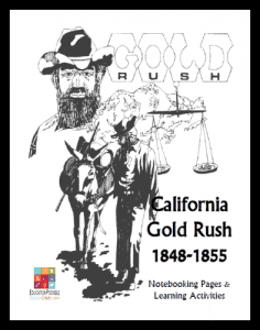 California-Gold-Rush-Notebooking-Unit-for-Teens-FREE-394x500