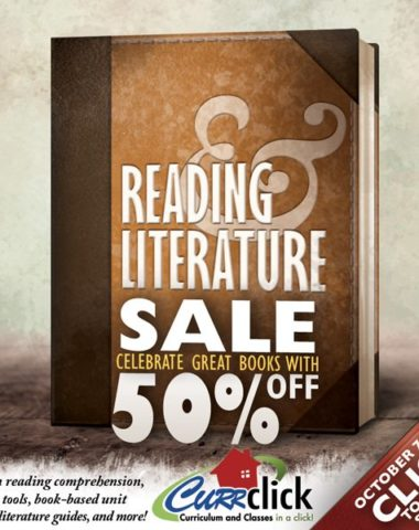Reading and Literature Sale at CurrClick