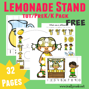 FREE Lemonade Stand Tot Pack_Square