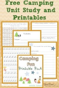Free-Camping-Unit-Study-and-Printables-Middle-School