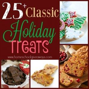 The Holiday season is quickly approaching. And what better way to get in the mood than to whip up some classic Holiday Treats! :: www.homeschoolgiveaways.com
