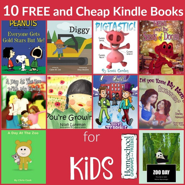 Kindle BOoks Kids 10.14