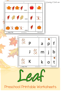 Leaf-preschool-printable-worksheets-pin