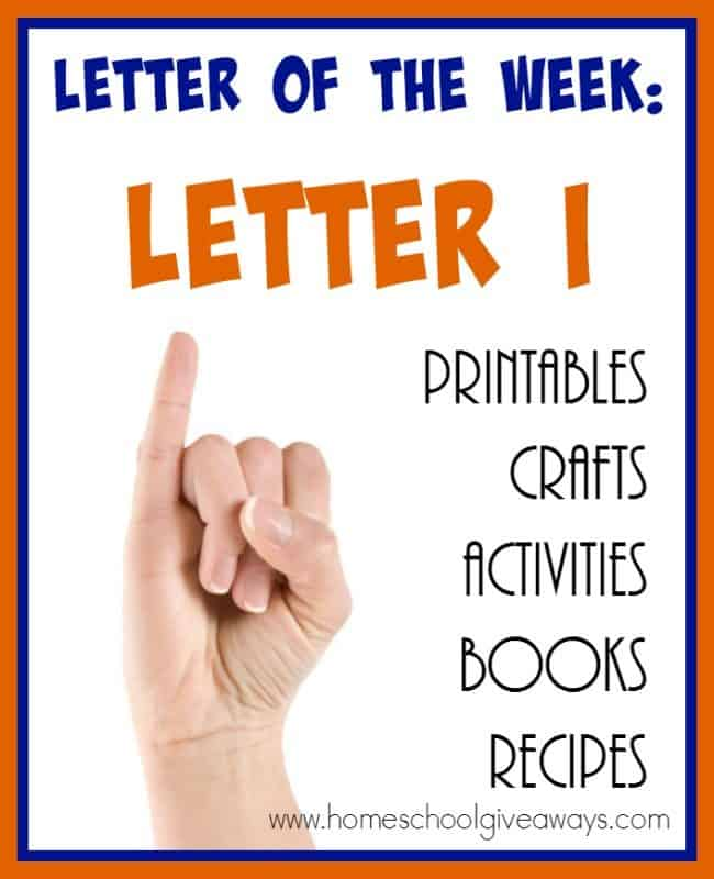 "This GIANT List of Resources will help you teach the Letter ""I"" in a FUN and memorable way! :: www.homeschoolgiveaways.com"