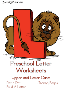 Preschool-Letter-Worksheets-L