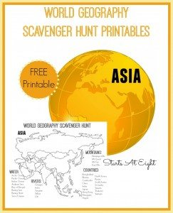 World-Geography-Scavenger-Hunt-Printables-Asia