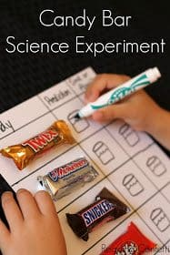 candy bar sink or float science 10