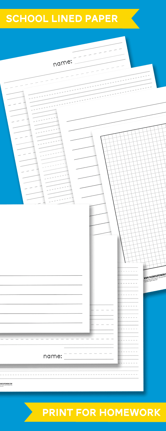 school papers to print