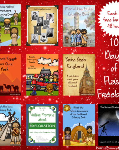 10 Days of Flash Freebies