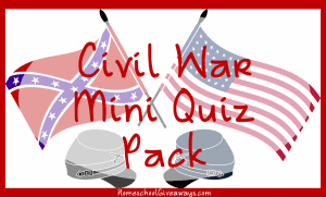 Civil War Mini Quiz Pack