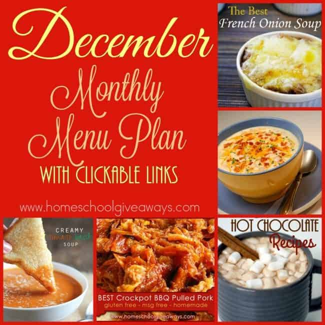 Be ready for winter weather with these delicious winter meals. From slow cooker meals to soups to comfort food and MORE! :: www.homeschoolgiveaways.com